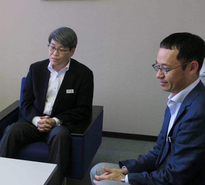 滋賀銀行 小坪氏、吉田氏