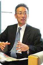 生涯設計開発部長 谷口 正吾氏