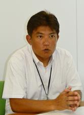 課長代理 松本 隆之氏